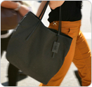 Limited Edition Eileen Fisher Tote in BLACK